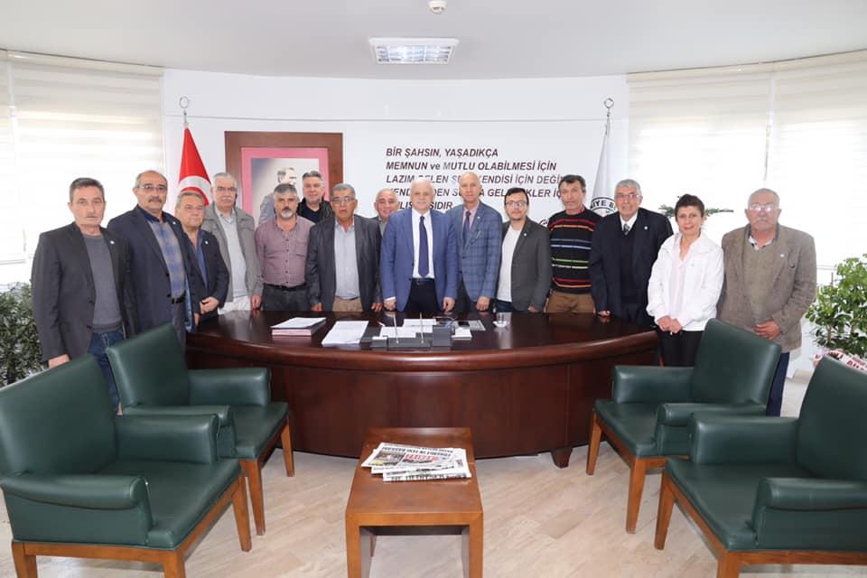 İYİ Parti İlçe Başkanı Erdoğan Kahya ve İYİ Parti İlçe Örgütü Ziyareti