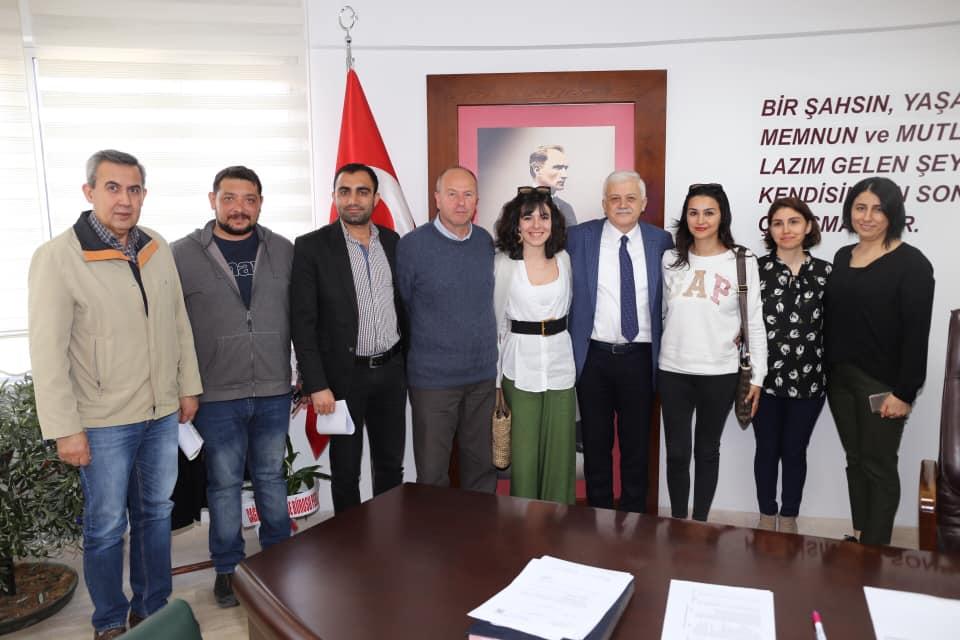Mimarlar Odası Başkanı Erhan Güngör ve Yönetim Kurulu Üyeleri Ziyareti