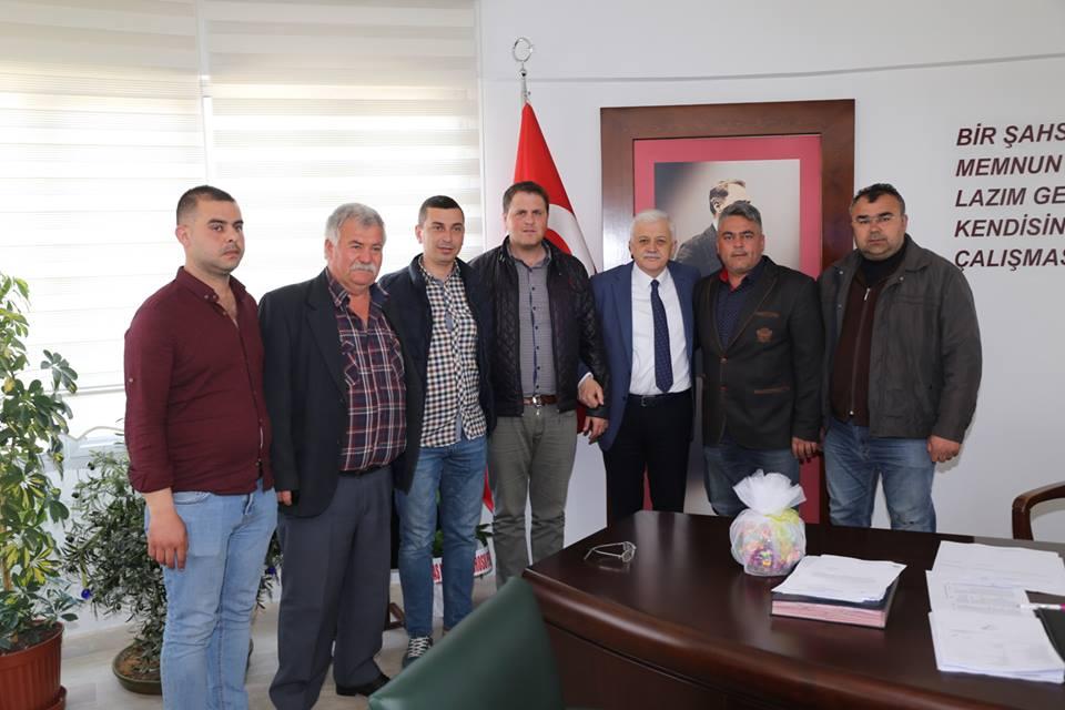 Sahil Birlik Kooperatifi Yönetim Kurulu Üyeleri Ziyareti