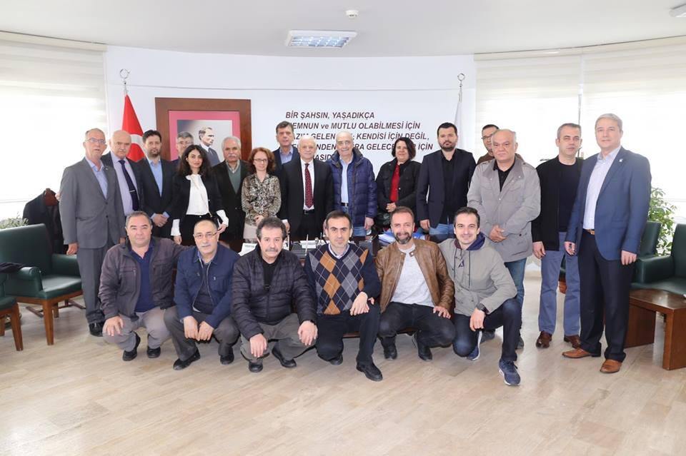 Burhaniye Serbest Muhasebeci Mali Müşavirlik Temsilciliği Yönetim Kurulu Üyeleri Ziyareti
