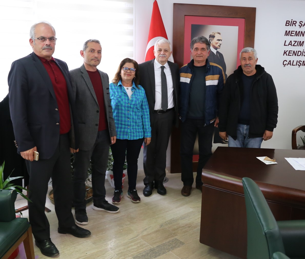 AKD, Başkan Deveciler'i Ziyaret Etti
