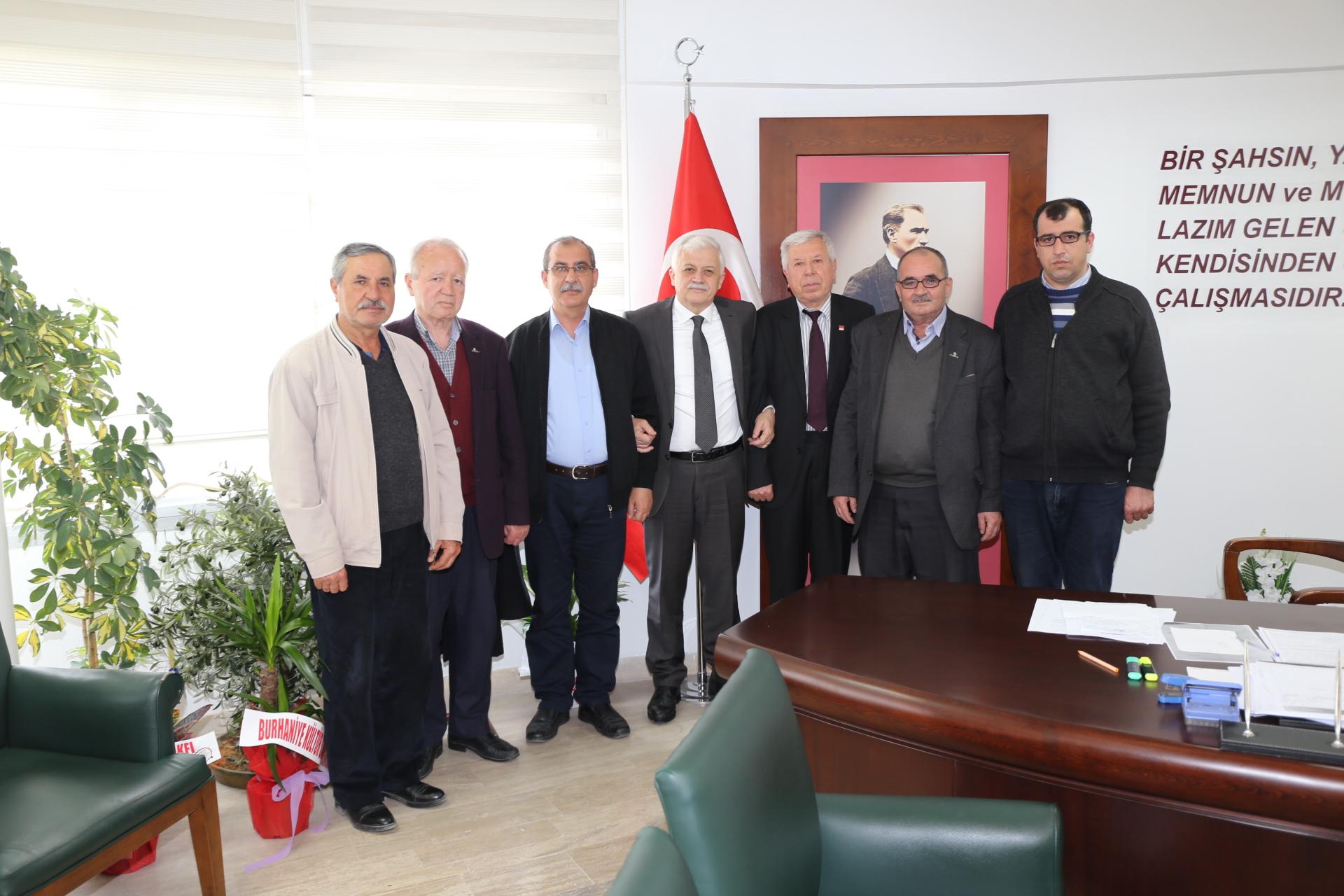 Havran CHP'den Deveciler'e Hayırlı Olsun