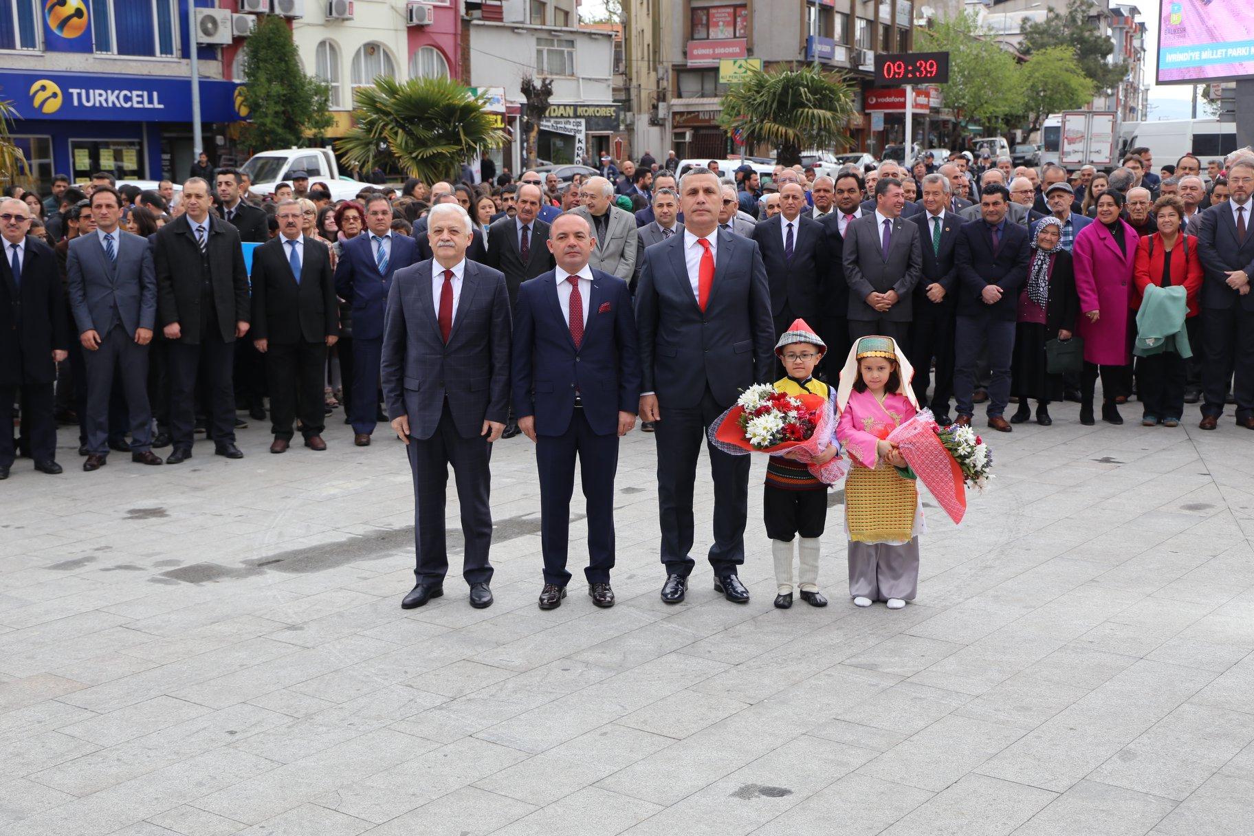 23 Nisan Ulusal Egemenlik ve Çocuk Bayramı Etkinlikleri  Coşkulu Bir Şekilde Kutlandı