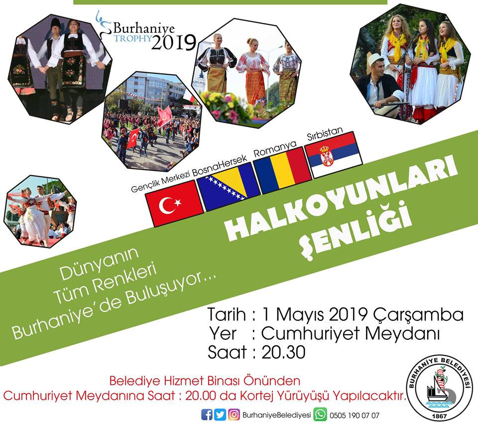 Dünyanın Tüm Renkleri Burhaniye'de Buluşuyor
