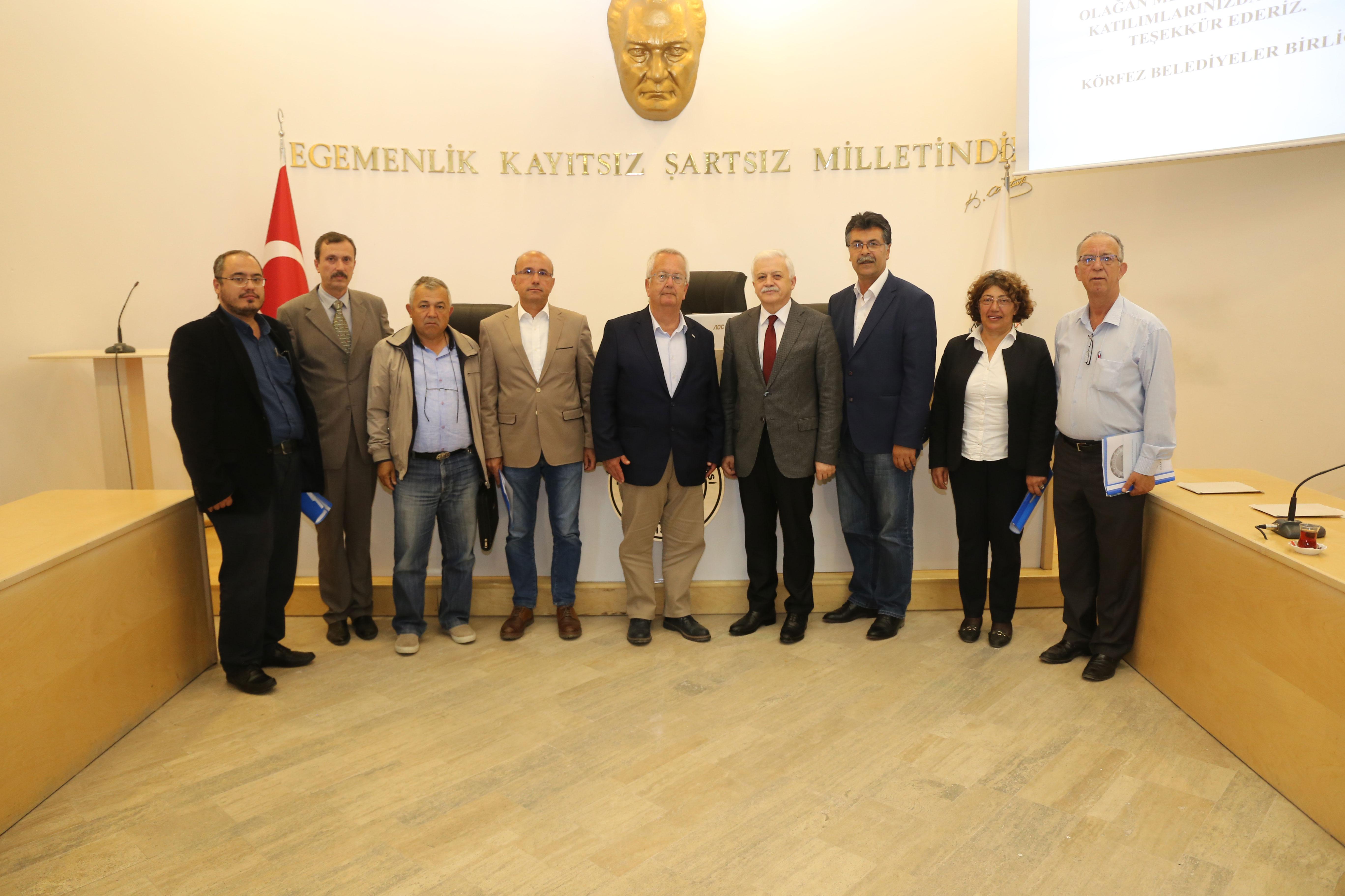 Körfez Belediyeler Birliği Toplantısı Yapıldı