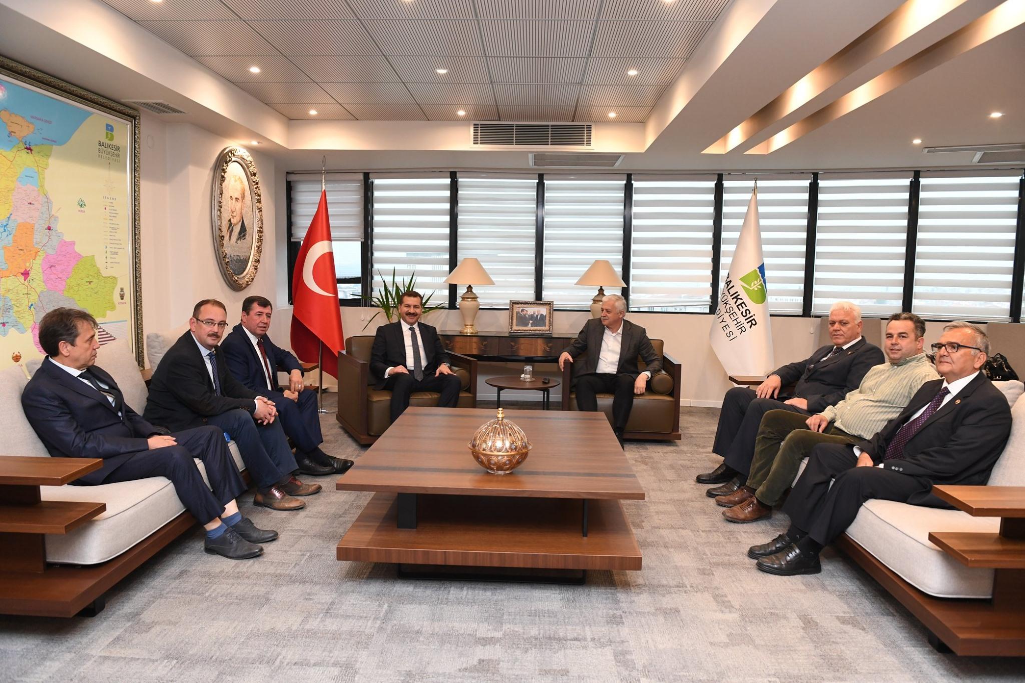 Balıkesir Büyükşehir Belediye Başkanını Ziyaretimiz