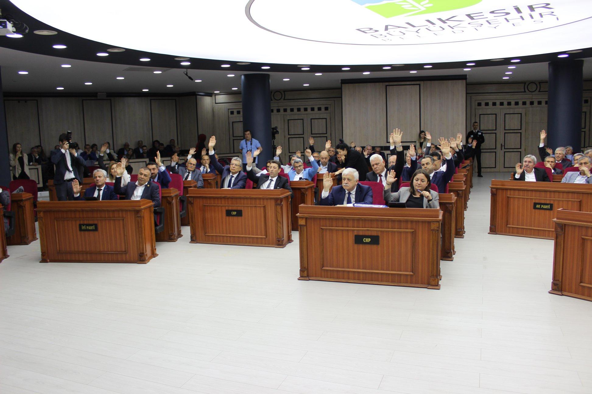 Balıkesir Büyükşehir Belediye Meclisi Ve Baski Genel Kurul Toplantısı Yapıldı