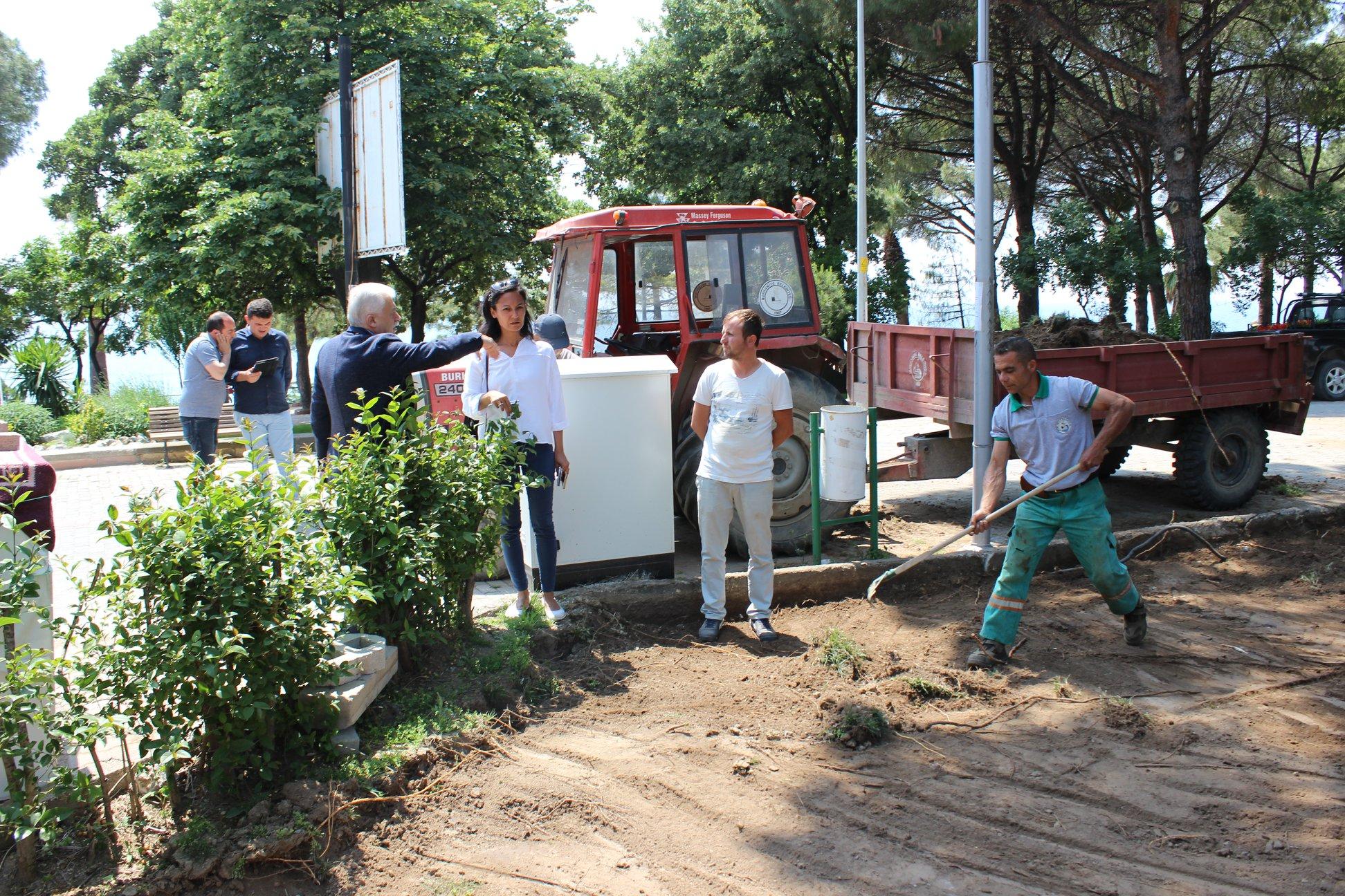 Turistik Mahallelere Denetim Ve Çalışmalar Hızlandı