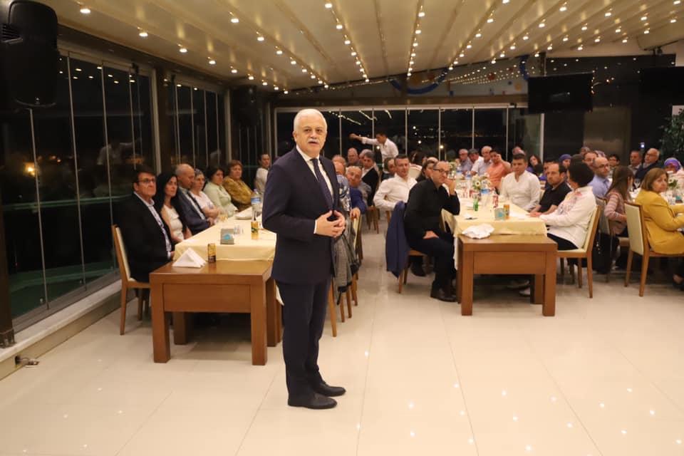 Burhaniye Belediye Başkanı Ali Kemal Deveciler Şehit Aileleriyle Ve Gazilerimizle İftar Yemeğinde Bir Araya Geldi