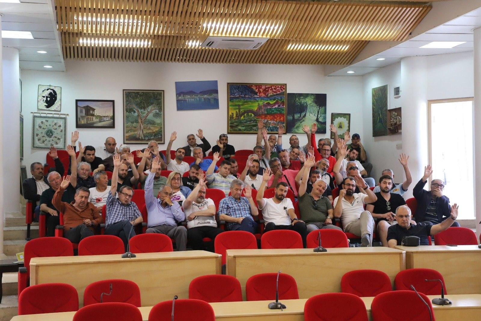 Burhaniye Belediye Spor Kulübü Kongresi Yapıldı