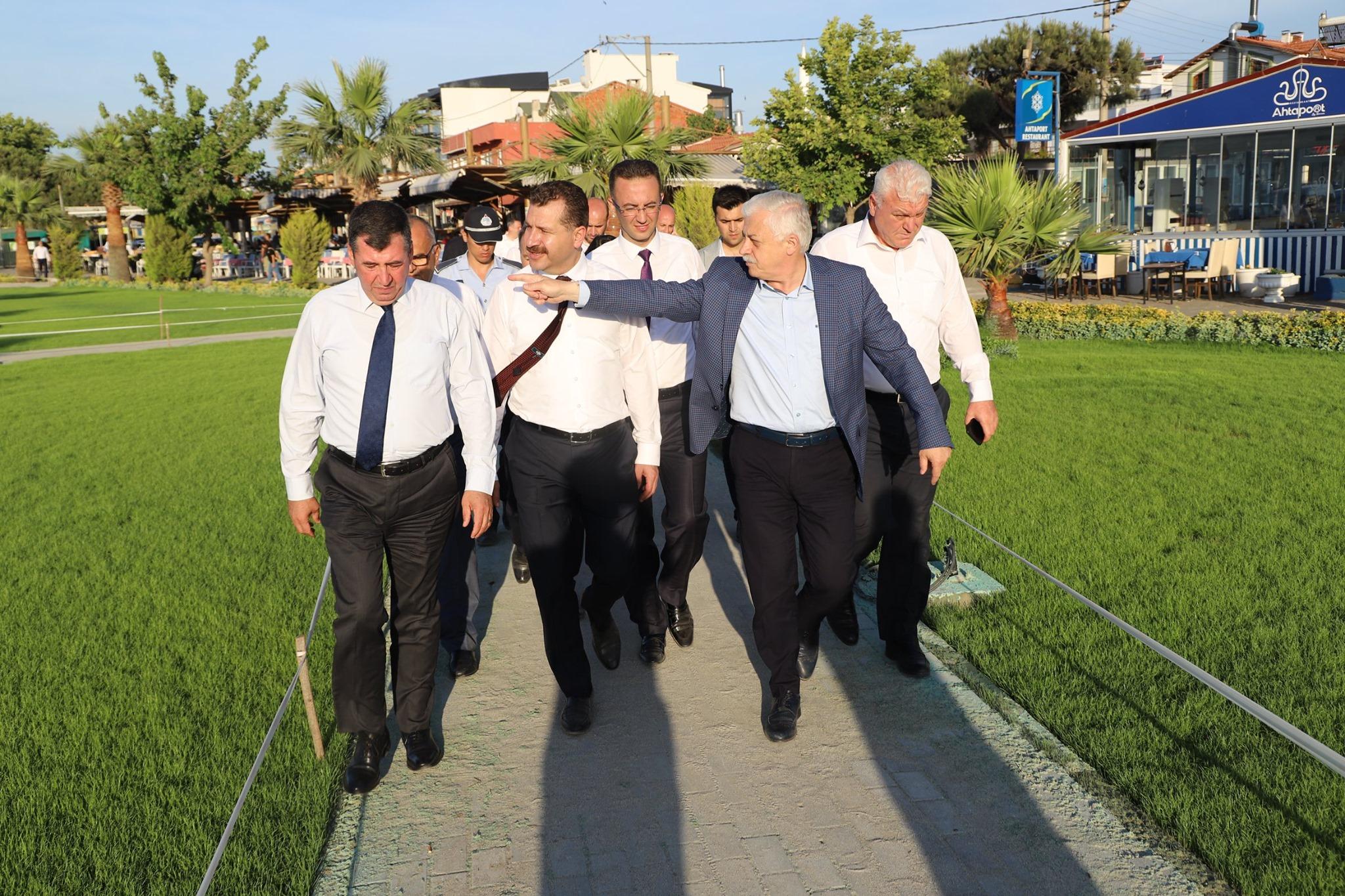 Başkanların Sahil Ziyaretleri