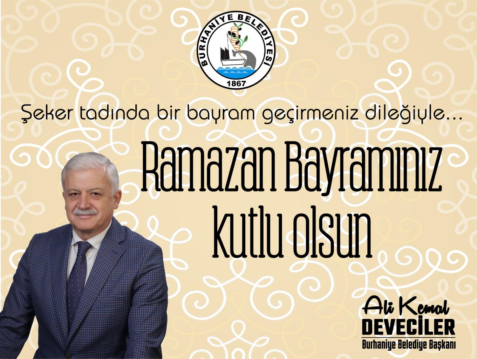 Başkan Deveciler'den Ramazan Bayramı Mesajı