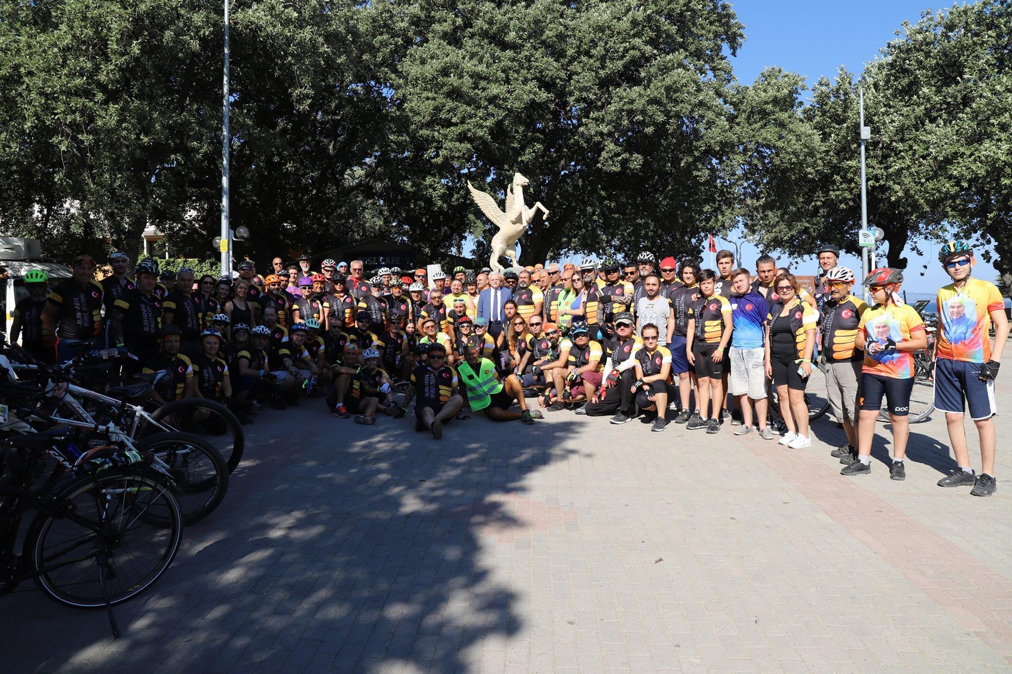 5. Burhaniye Bisiklet Festivali Açılışı
