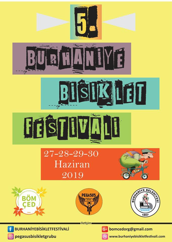 5. Burhaniye Bisiklet Festivali Başlıyor