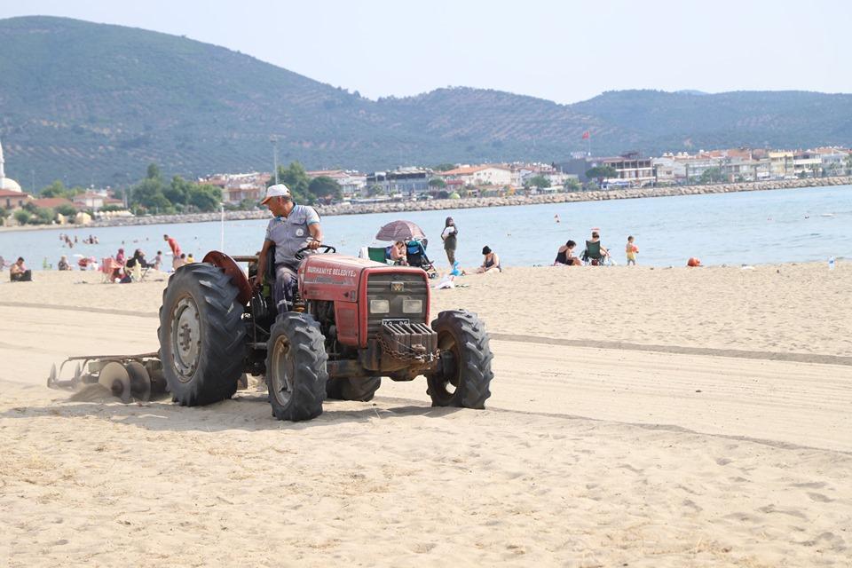 Kıyı - Plaj Temizliği Çalışmaları Tüm Hızıyla Devam Ediyor