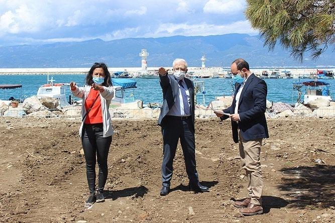 """Burhaniye Belediye Başkanı Ali Kemal Deveciler """"İskele Körfezin Yıldızı Olacak"""""""
