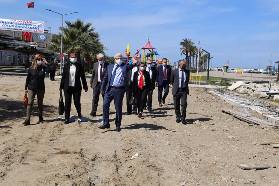 """Burhaniye Belediye Başkanı Ali Kemal Deveciler """"Burhaniyemiz Değer Kazanıyor"""""""
