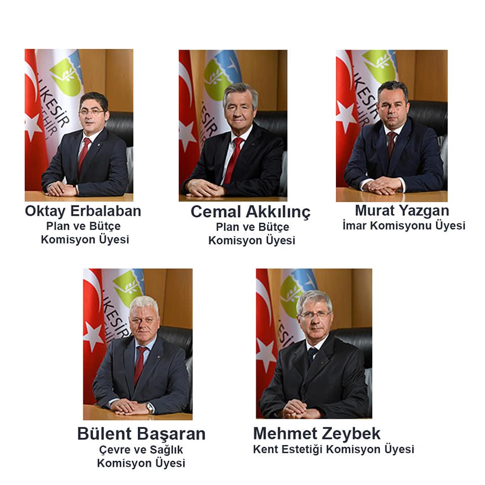Balıkesir Komisyon Üyelerini Seçti