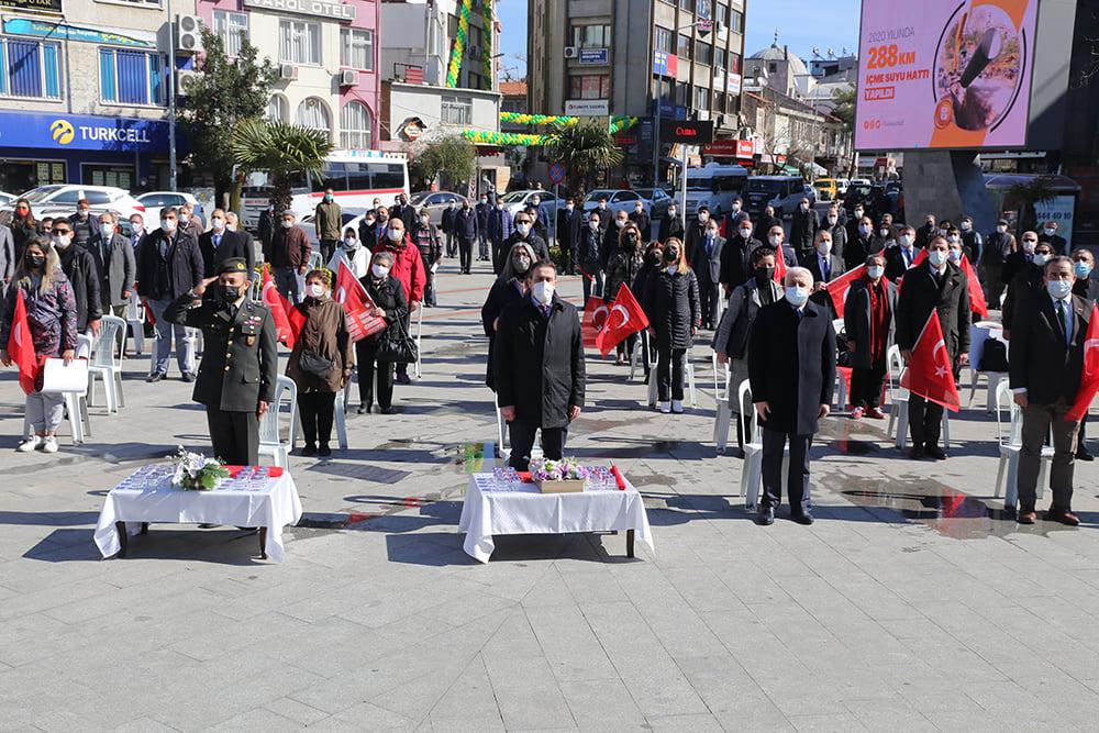 İstiklal Marşı'nın Kabulü Burhaniye'de Kutlandı