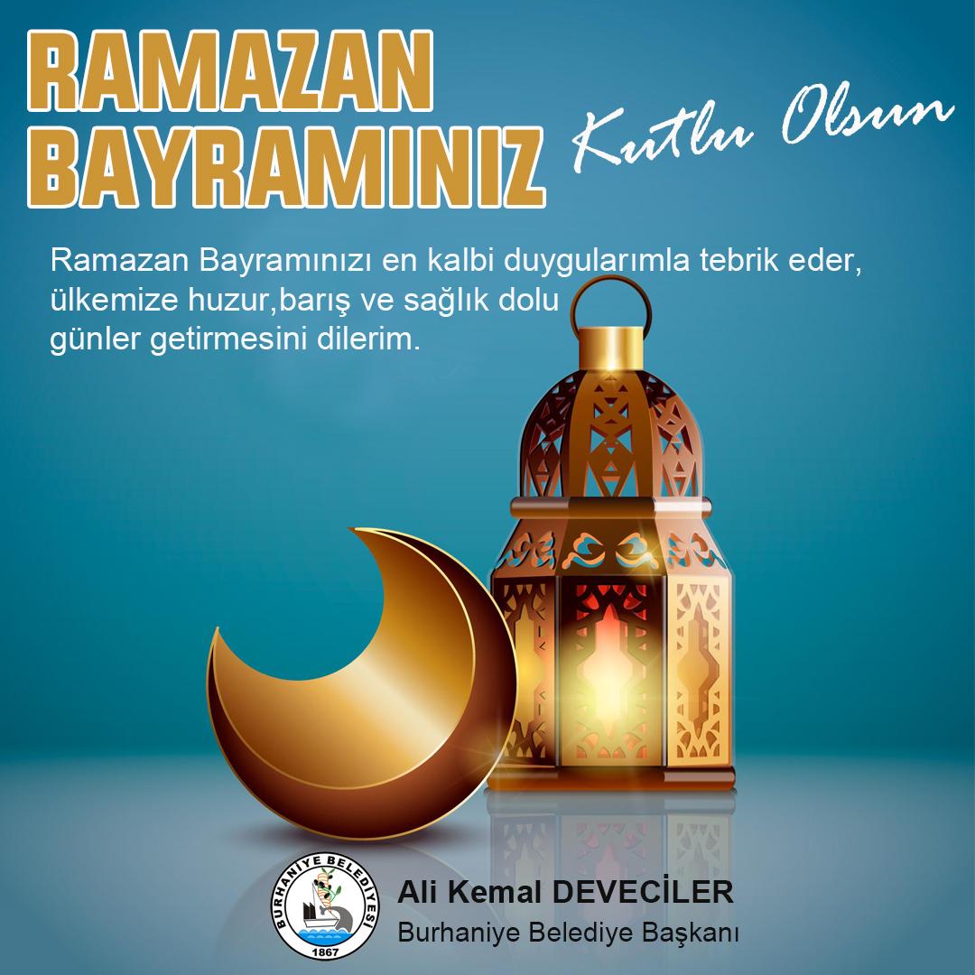 Ramazan Bayramı Kutlama Mesajı