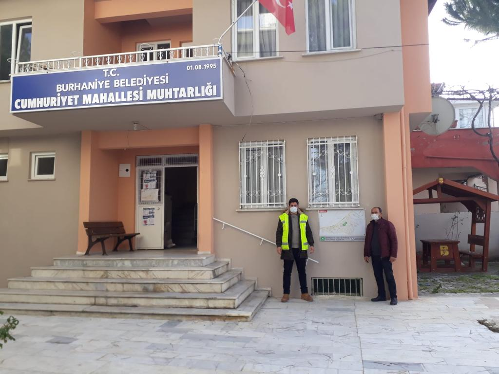 Burhaniye'de Acil Durum Toplantısı Yapıldı