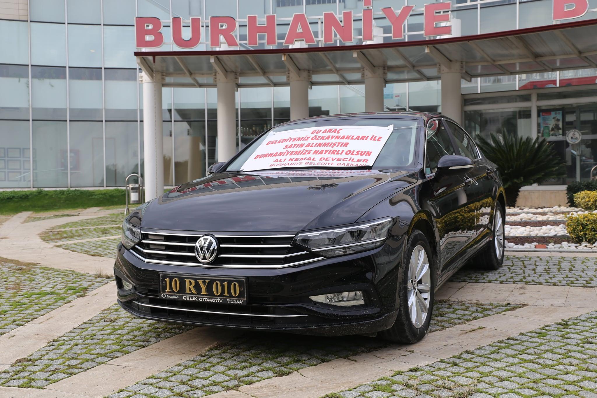 Burhaniye Araç Filosu Yenileniyor