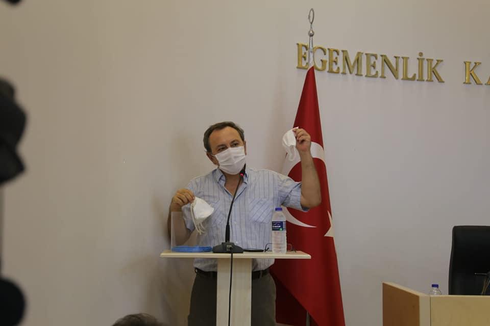 Burhaniye Meclisine Virüs Brifingi Verildi