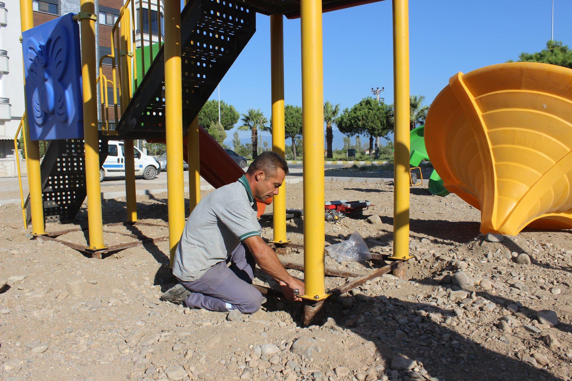 Burhaniye'ye Bir Yeni Park Daha