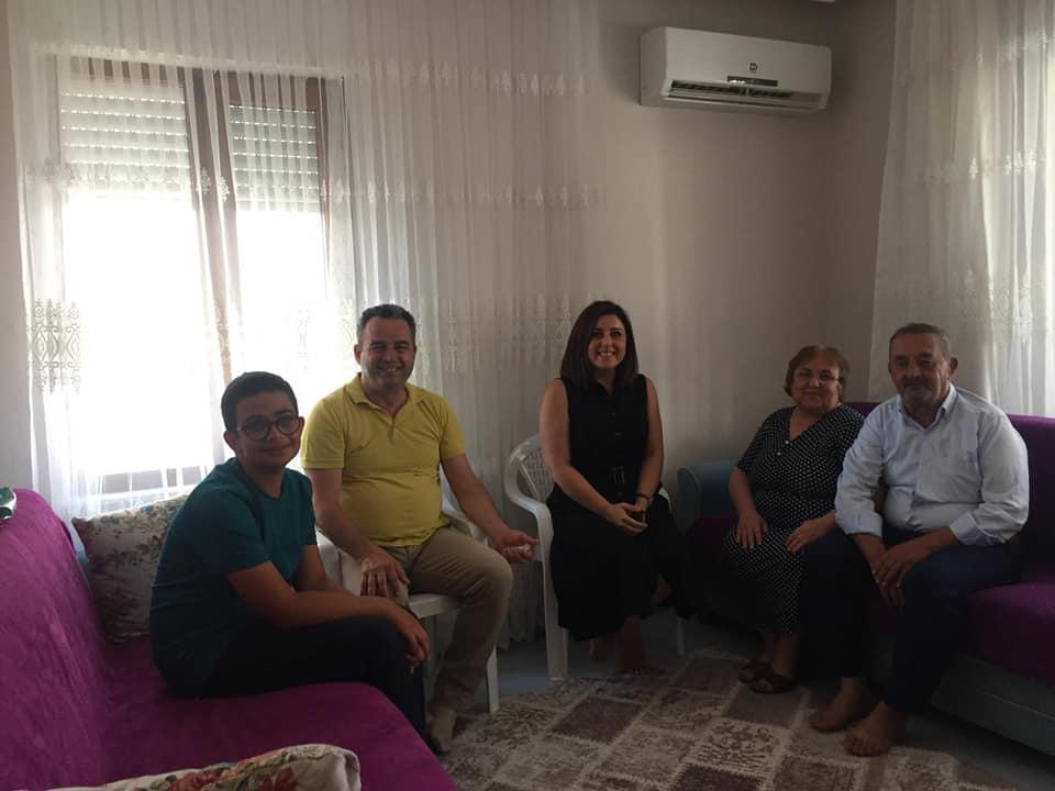 Burhaniye Belediyesi'nden Şehit Ailelerine Bayram Ziyareti
