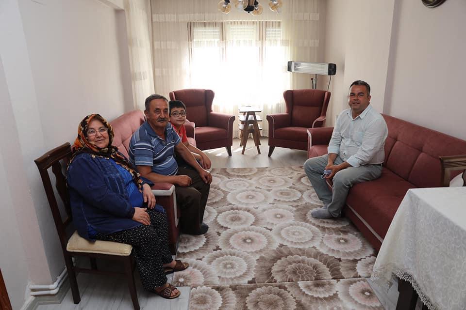 Burhaniye'de Şehit Babaları Unutulmadı