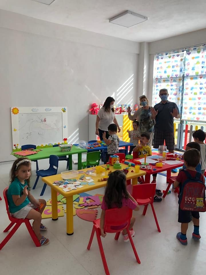 Nur Çakıroğlu Albak Gündüz Bakımevimiz Bugün Eğitim Faaliyetlerine Başladı.