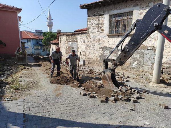 Bahadınlı Mahallesi Düdüklü Suyu Yenileme Çalışması Yapıldı