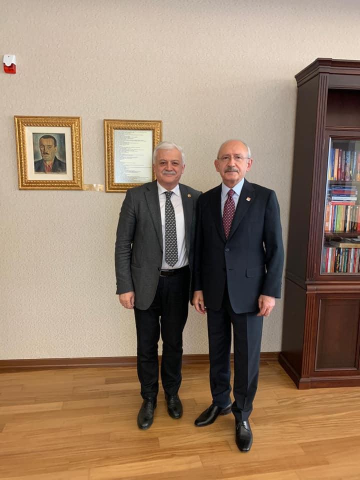 Başkan Deveciler, Kılıçdaroğlu'nu Ziyaret Etti