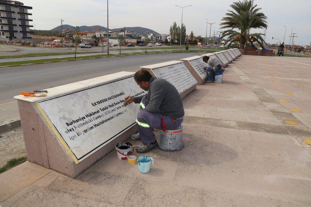 Kuvayı Milliye Anıtı Bakım Onarım Çalışması Yapıldı