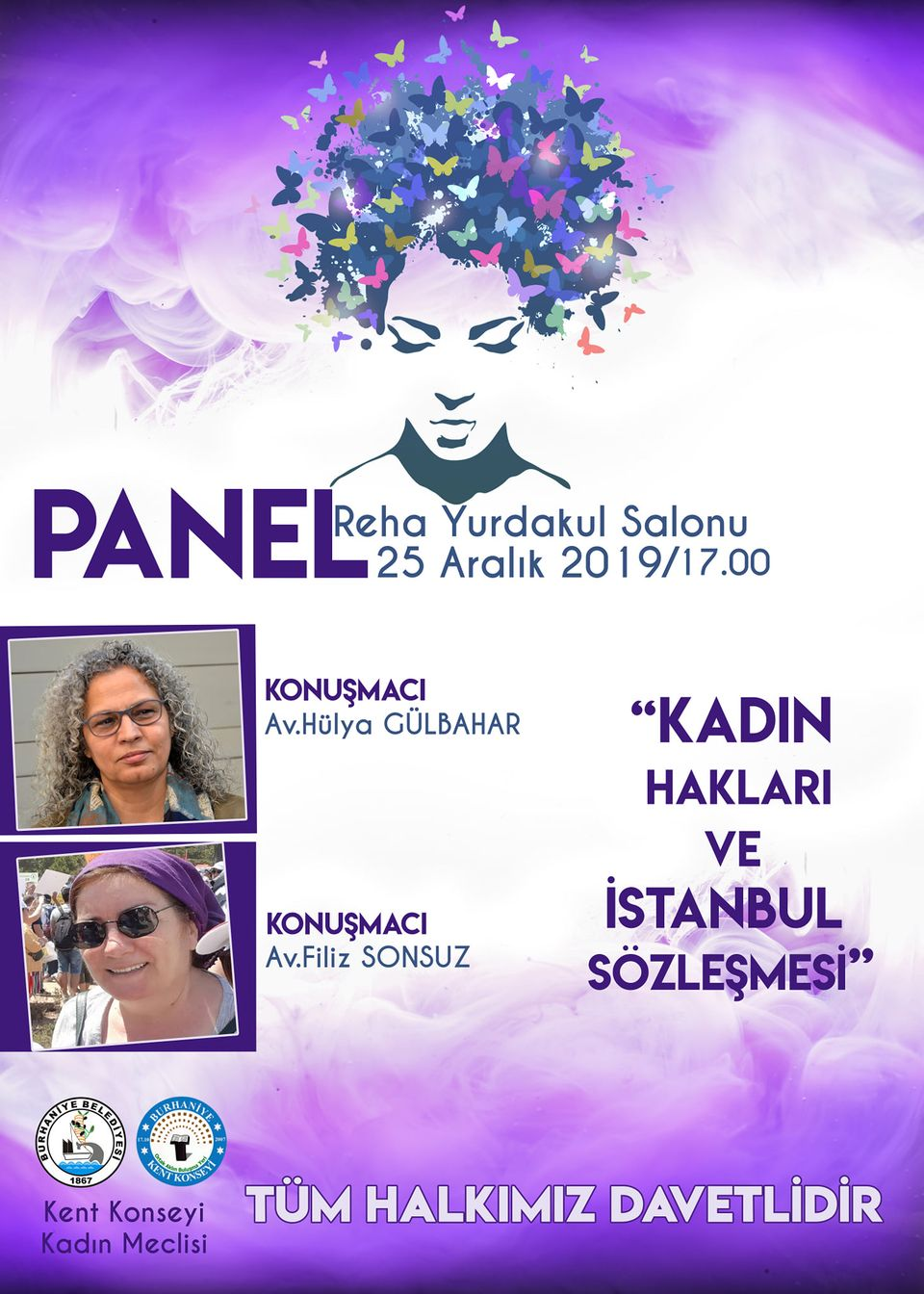 Burhaniye'de Kadın Hakları Paneli Düzenlenecek