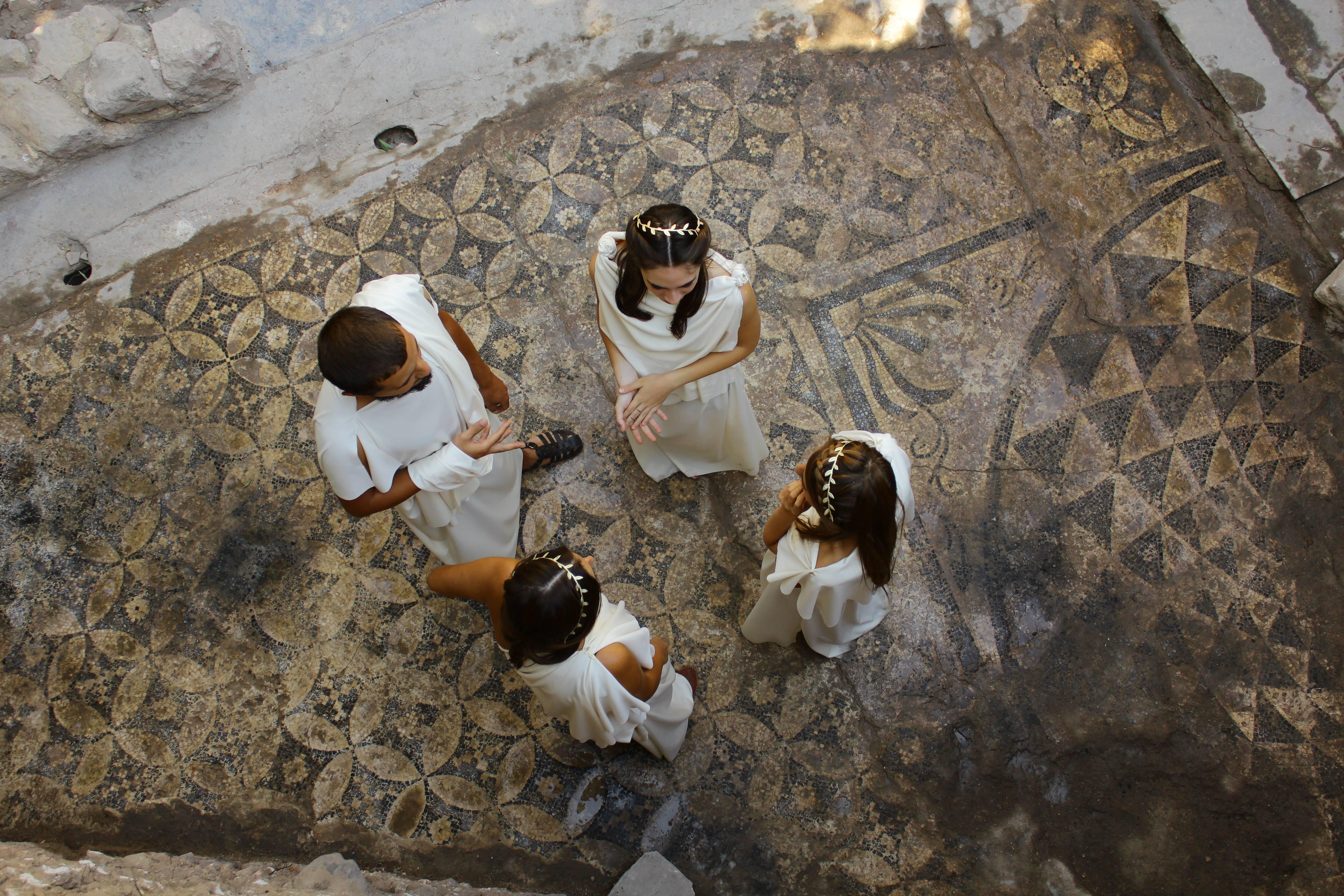 Kazı Alanları - Roma Hamamı E Bölgesi