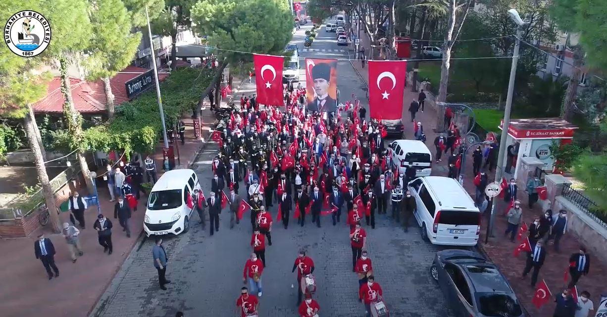 Burhaniye Belediyesi 29 Ekim Kutlamaları