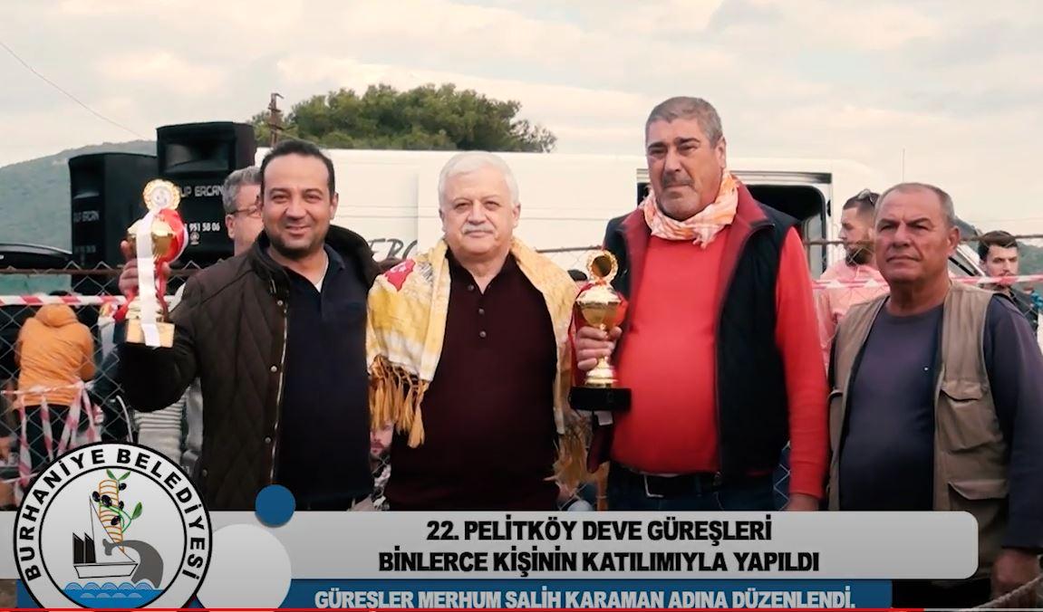 22. Pelitköy Deve Güreşleri Binlerce Kişinin Katılımıyla Yapıldı