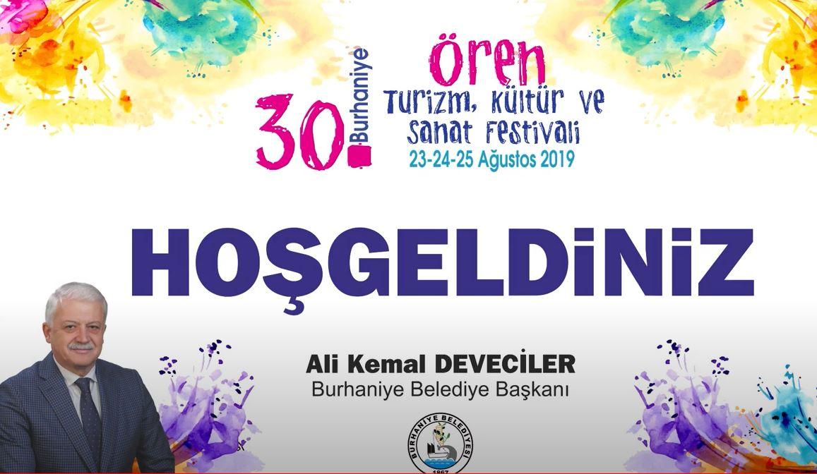 30. Burhaniye-Ören Turizm Kültür ve Sanat Festivali